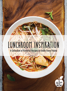 Lunchroom Inspiration Recipe Book